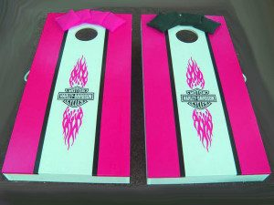 Harley Davidson pink board for girls