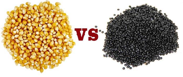 Cornhole bags vs pellets