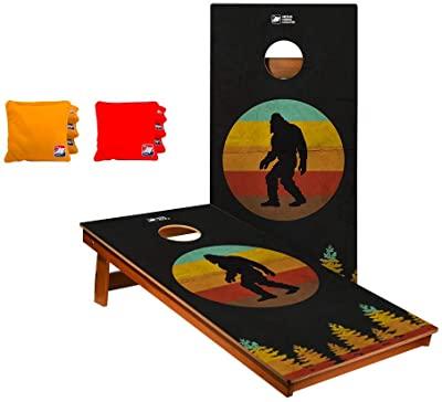 The big chimpanzee boards for cornhole