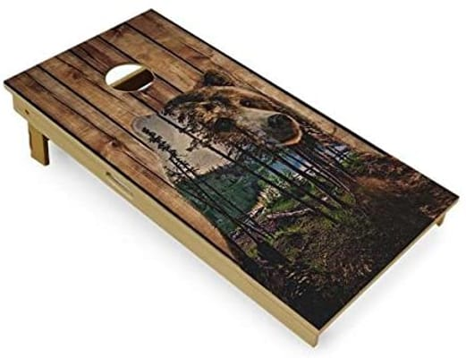 Slick woodyS cornhole board