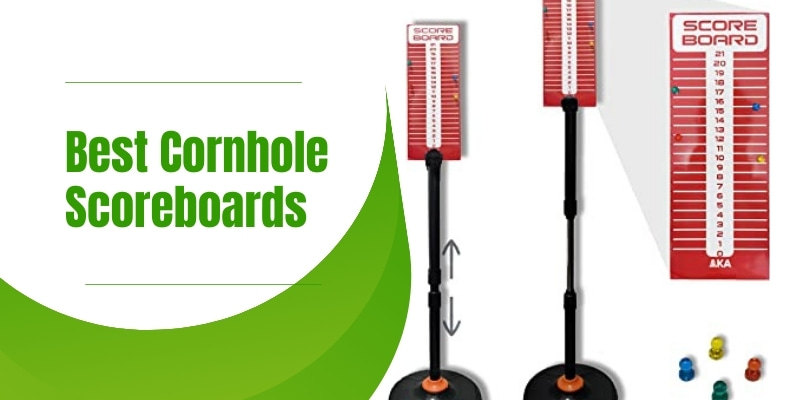 Magnetic and simple scoreboards for cornhole