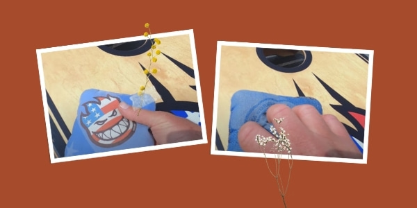 Tips on how to grip cornhole bag