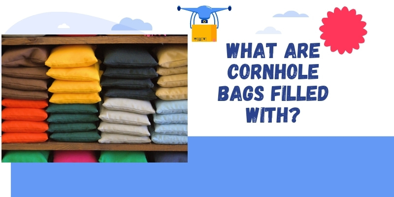 filling of cornhole bags